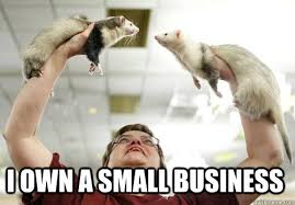 Animal Pun Meme - i own a small business animal puns quickmeme