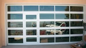 garage glass doors garage famous glass door design home depot doors panels