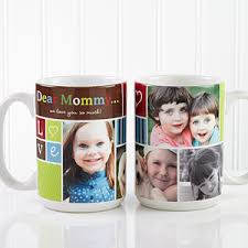 large personalized picture collage coffee mugs photo