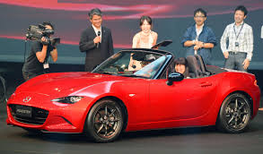 mazda new 2 mazda unveils new miata as top selling two seat roadster turns 25