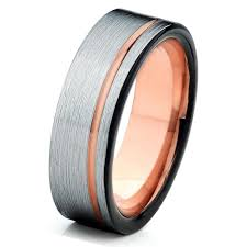 silver mens wedding bands mens gold wedding ring tungsten wedding bands