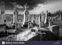 halloween tombstones on a black background graveyard black and white stock photos u0026 images alamy
