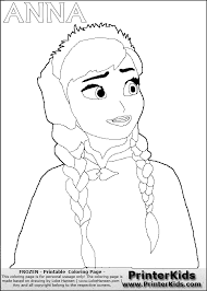 printable frozen coloring pages free printable pony