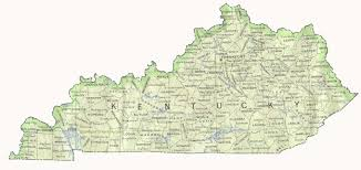 kentucky map map of kentucky by phonebook of kentucky