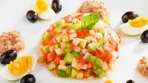 cuisine tv recettes vues à la tv recette de salade tunisienne minutefacile com