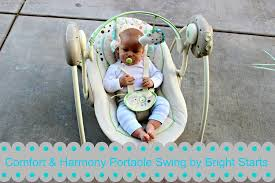 Comfort Harmony Swing Batteries Baby Gear Must Haves Comfort U0026 Harmony Portable Swing By Bright