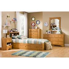 south shore little treasures twin mates bed with 3 drawers 39