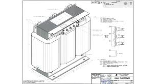 transformer three phase wiring diagram components
