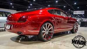 red bentley whips by wade candy red bentley gt couple on 24