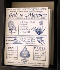 wedding invitations south africa beth and matthew s south wedding invitations