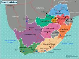 South Africa Maps by File South Africa Regions Map Png Wikimedia Commons