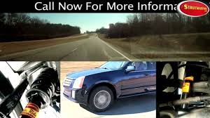 2005 cadillac srx problems rear suspension cadillac srx shock and strut replacement by
