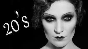 modern 1920s maquillaje años 20 20 u0027s makeup u0026 hair tutorial