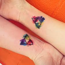 triforce watercolor tattoo baton rouge la baton rouge and