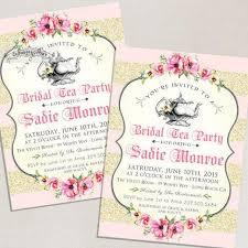 blush pink bridal shower invitations tea high tea bridal tea