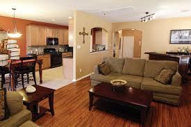 small open floor plan making a small kitchen island kitchen ideas