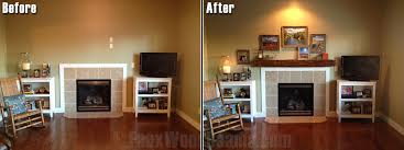 diy fireplace mantel interior design