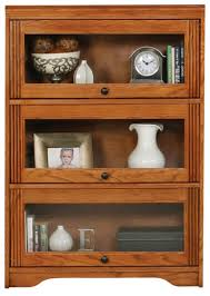 oak bookcases with glass doors bookcases