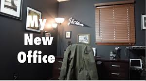 setting up my new home office youtube