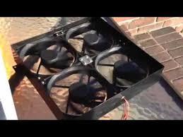 gable attic fan installation solar powered gable attic fan install review diy pt 1 youtube