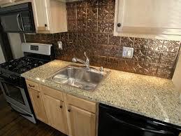 Pressed Tin Backsplash For Kitchen  Decor Trends  Using Tin - Kitchen metal backsplash