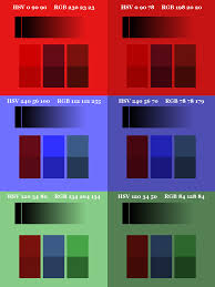 Shades Of Red Rgb Clown Fish Cafe Gimp U0027s Layer Modes Somewhat Demystified U2013 Part