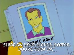Strapon Meme - gordie howe played a very important role in a classic episode of