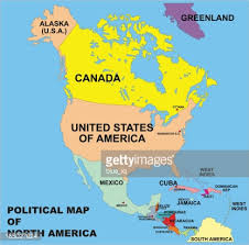 anerica map political map of america in vector format vector getty