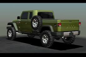 new jeep wrangler concept jeep ceo says pickup model a possibility for 2015