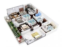 Three Bedroom House Interior Designs Get Simplified 3 Bedroom House Layout Modern Houses