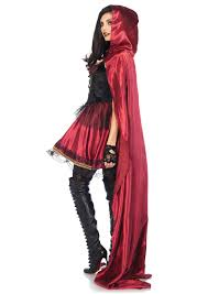 red riding hood halloween costumes captivating miss red riding hood costume