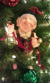 vintage christmas decorations elf on the shelf is nothing new lol
