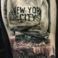 dark rose tattoo by justyna