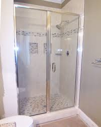 Glass Shower Doors And Walls by Bathroom Shower Enclosures Lowes Shower Heads Lowes Sliding