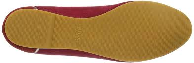 womens boots hugo hugo orange laure s ballet flat shoes flats hugo