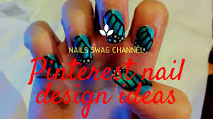 pinterest nail designs for beginners 10 seconds nail art