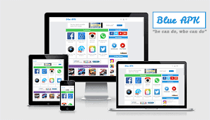 apk site blue apk android apps template templatemark