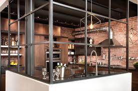 cuisine loft cuisine design industrie cheap electrolux grand cuisine with