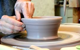 throwing a pot process designs with intention