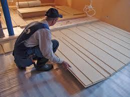 Under Laminate Floor Heating Koskitherm U2013 Under Floor Heating Panel Koskisen Oy