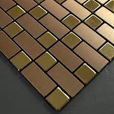 tile sheets for kitchen backsplash brushed metallic mosaic tiles stainless steel kitchen backsplash 9102