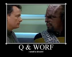 Worf Memes - q star trek images q and worf hd wallpaper and background photos