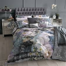 floral ted baker bedding and divine silver cabinetry bedrooms