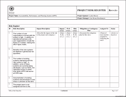 business assessment report template project risk assessment template exle template update234