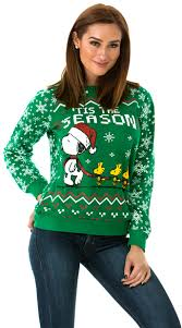 snoopy christmas sweatshirt festive snoopy and woodstock sweater snoopy sweater