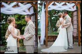wedding arches using tulle show me your alters weddings do it yourself style and
