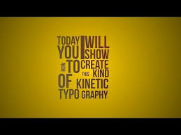 tutorial kinetic typography after effects kinetic typography in after effects tutorial youtube ae