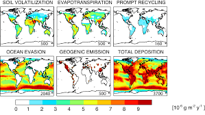 United States Map With Oceans by Atmospheric Chemistry Modeling Group Pictures Of The Month