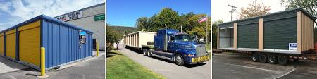 relocatable mobile storage units for the self storage industry