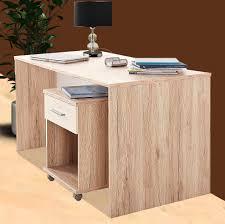 Schreibtisch Online Shop Jugendzimmer Schreibtisch Mit Rollcontainer Sanremo Eiche Weiß